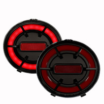 Anzo 321342 - 2005-2013 Chevy Corvette C6 LED Taillights Black