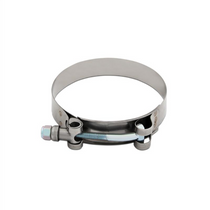 "Mishimoto Stainless Steel T-Bolt Clamp - 2.12"" – 2.44"" (54mm – 62mm) - MMCLAMP-225"