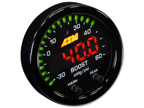 AEM X-Series 60PSI / 4BAR Boost Display Gauge - 30-0308
