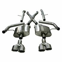 """Corsa Xtreme Catback Exhaust with Quad 4"""" Polished Tips (No Tow Hitch Only) - 2018+ Jeep Grand Cherokee Trackhawk (6.2L Hellcat V8) - 21052"""