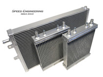Speed Engineering Large Heat Exchanger Upgrade Kit - 2016+ Cadillac CTS-V & Chevy Camaro ZL1 (6.2L LT4) - 27-1001