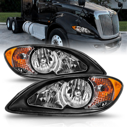Anzo 131032 - USA Commercial Truck Crystal Headlight Set