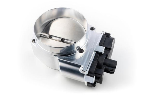 Nick Williams 103mm Billet Throttle Body (Silver Finish)- Drive By Wire NA and Boosted LSX Applications (LS2, LS3, LS7) - SD103BK