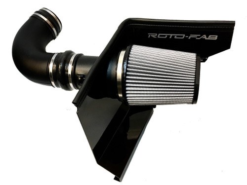 Roto-Fab Cold Air Intake with Dry Filter - 2010-2015 Chevy Camaro SS (6.2L V8) - 10161009