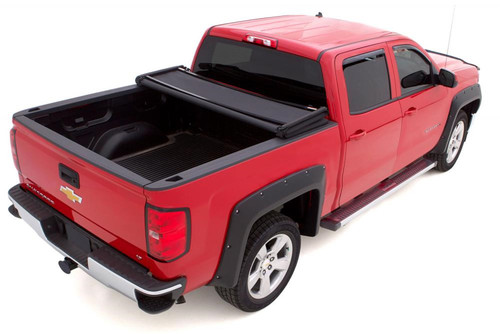 Lund 82 11 Ford Ranger 7ft Bed Genesis Elite Tri Fold Tonneau Cover Black 95813 Complete Street Performance