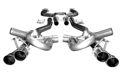 Solo Performance Mach Shorty Balanced Catback Exhaust - 2008-2009 Pontiac G8 GT & GXP