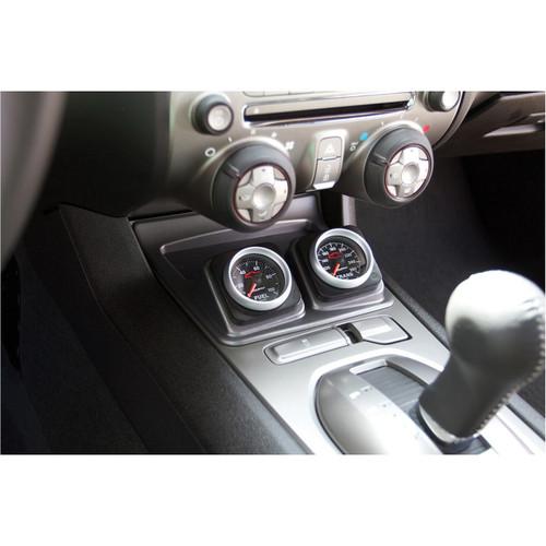 "Autometer Dual 2 1/16"" Console Gauge Pod - 2010-2015 Chevy Camaro - 5286"