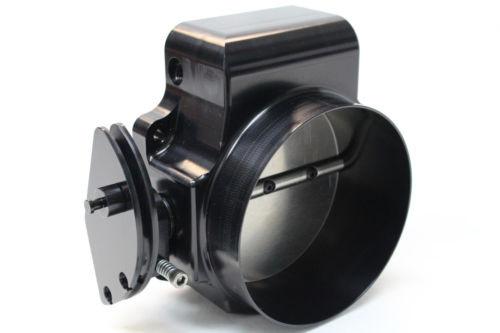 Nick Williams 102mm Billet Throttle Body (Black Finish)- Cable Drive LSX