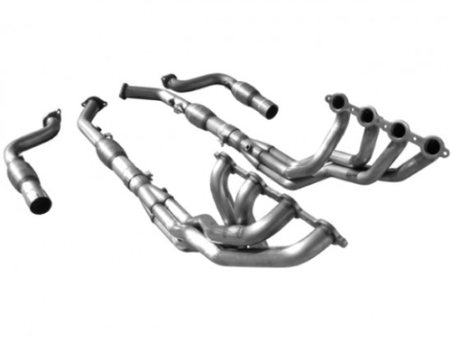 "ARH 1 7/8"" Long Tube Headers with High Flow Catted Mid Pipes - 2005-2006 Pontiac GTO (6.0L)"