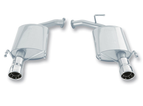 Borla Axleback Exhaust w/Polished Tips - 2007-2011 Toyota Camry LE/SE/XLE (3.5L V6)