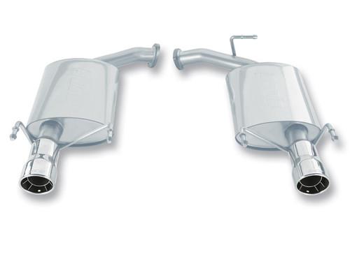 Borla Axleback Exhaust w/Polished Tips - 2007-2011 Toyota Camry LE/SE/XLE (3.5L V6)