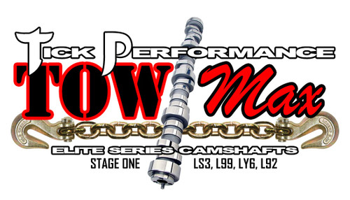 Tick Performance towMAX Stage 1 Camshaft for LS3, L99, LY6 & L92 Engines - TMX0013