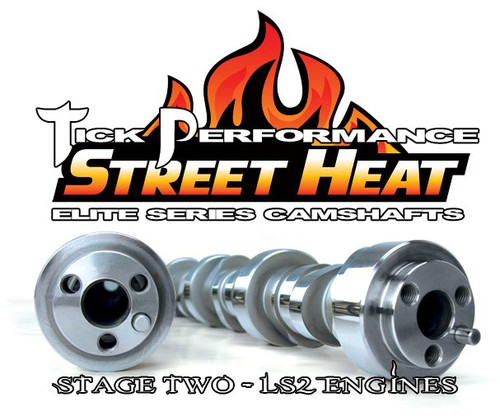 Tick Performance Street Heat Stage 2 Camshaft for LS2 Engines