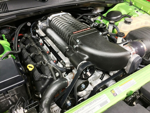 Whipple Roots Supercharger (Complete Kit) - 2011-2018 Dodge Charger, Challenger, & Chrysler 300 SRT (6.4L V8)