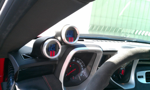 Aeroforce Dual Gauge Pod - 2010-2015 Chevy Camaro