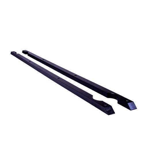 Elite Engineering UHMW Rocker Panel Rails & Mounting Screws (Works with Elite Jacking Pucks) -  1997-2004 Chevy Corvette