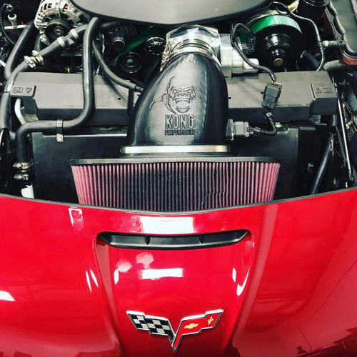 """Kong Performance 5"""" Cold Air Induction  - 2009-2013 Chevy Corvette ZR1"""