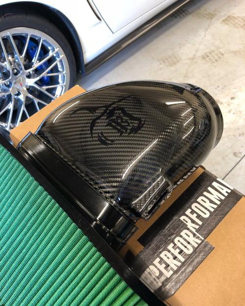 "Kong Performance 5"" Cold Air Induction  (Carbon Fiber) - 2009-2013 Chevy Corvette ZR1"