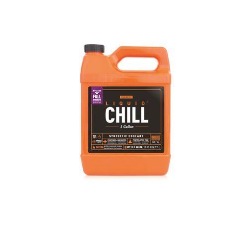 Mishimoto Liquid Chill Synthetic Engine Coolant - Full Strength - One Gallon - MMRA-LC-FULLF