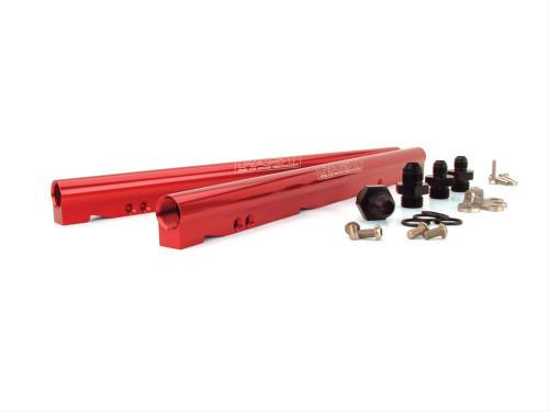 FAST Fuel Rail Kit for Fast LSXR 102 Intake (Red) - LS2