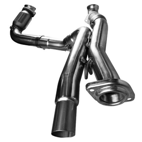 """Kooks 3"""" Connection Pipes with Ultra High Performance  Green Cats-1999-2006 Chevy Silverado, Sierra 1500 & GM Fullsize SUV V8 (6.0L V8)"""