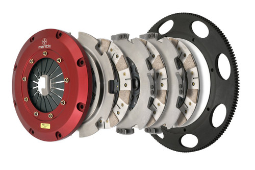Mantic 9000 Series Triple Disc Clutch - Cerametallic - 2009-2013 Chevy Corvette ZR1