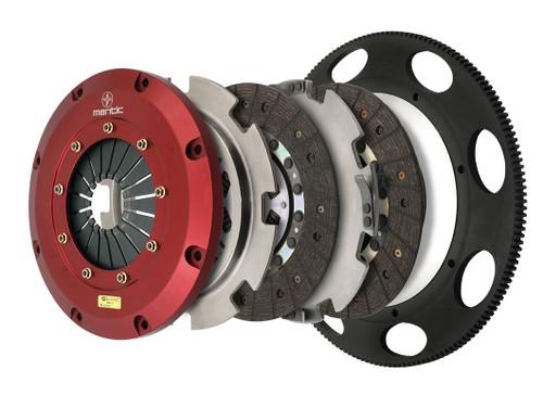 Mantic 9000 Series Twin Disc Clutch - Organic - LS to Tremac T56 6 Bolt
