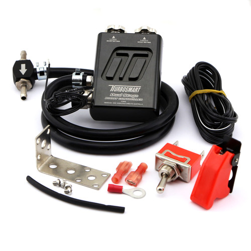 Turbosmart Dual Stage Manual Boost Controller V2 (Black) - TS-0105-1102