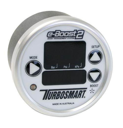 Turbosmart EBoost2 66mm Electronic Boost Controller - Silver Face/Silver Bezel - TS-0301-1004