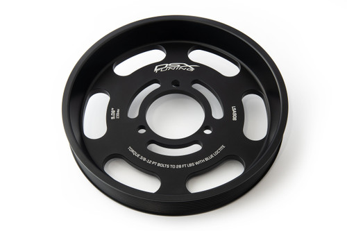 """DSX Tuning Lower Pulley (LSA/LT4) - 9.06"""" - DSX-LSA-906"""