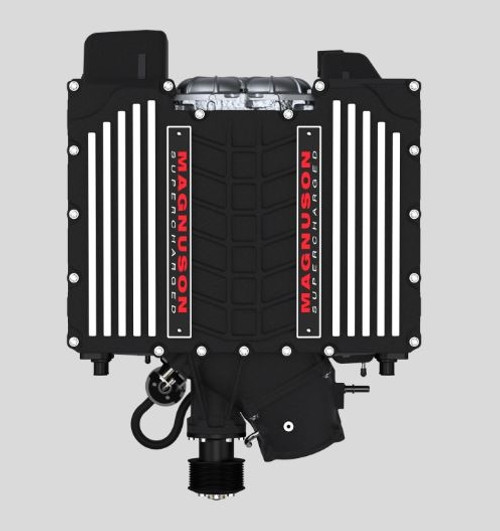 Magnuson TVS2650R Supercharger (No Tune Included) - 2014+ Chevy Corvette C7 (6.2L LT1 Dry Sump Only) - 02-26-62-171-BL