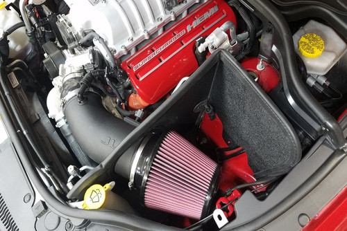 JLT Cold Air Intake With Red Filter - 2018+ Jeep Grand Cherokee Trackhawk (6.2L Hellcat V8)