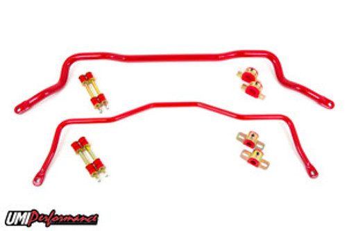 UMI Performance Tubular Front & Rear Sway Bar- 1982-2002 Camaro & Firebird