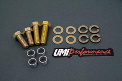 UMI Performance Rear Torque Arm Hardware Kit, Moser 12-Bolt - 1982-2002 Camaro & Firebird