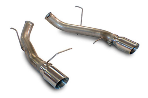 SLP Loudmouth I Axleback Exhaust - 2011-2014 Ford Mustang GT, Boss 302 & GT500