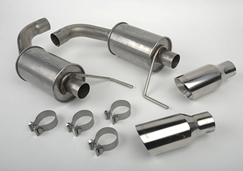 SLP Loudmouth II Catback Exhaust - 2015-2017 Ford Mustang (2.3L I4 & 3.7L V6) - 620062
