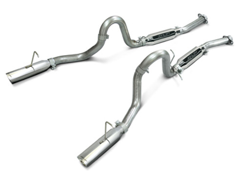SLP Loudmouth I Catback Exhaust - 1994-1997 Ford Mustang GT & Cobra
