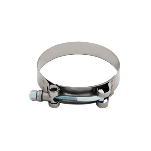 """Mishimoto Stainless Steel T-Bolt Clamp - 2.12"""" – 2.44"""" (54mm – 62mm) - MMCLAMP-225"""