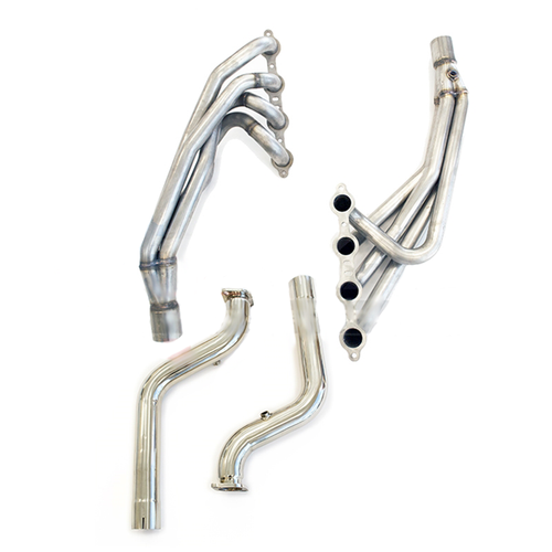 """Texas Speed 1 3/4"""" Headers with Off Road Connection Pipes (304 Stainless) - 2005-2006 Pontiac GTO (6.0L LS2)"""