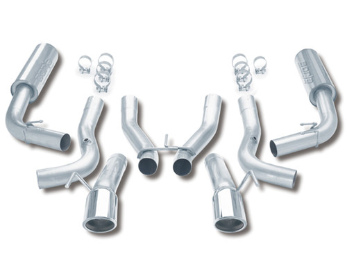 Borla 96-02 Dodge Viper GTS/R/T-10 Coupe/Convertible 2dr SS Catback Exhaust System - 14663