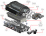 Whipple Roots Supercharger (Complete Kit) - 2014-2017 Chevy SS Sedan (6.2L V8)