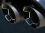 Borla Quad Carbon Fiber Tip Kit for Exhaust Systems - 2018+ Jeep Grand Cherokee Trackhawk (6.2L Hellcat V8) - 60673CF