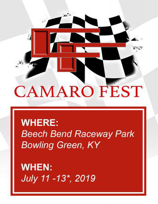 Come See Andrew @ Camaro Fest in Bowling Green, KY!