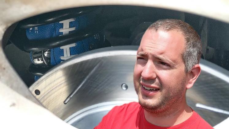 Mechanic Mike Goes to Drag Week & Uses Footballs in Suspension!