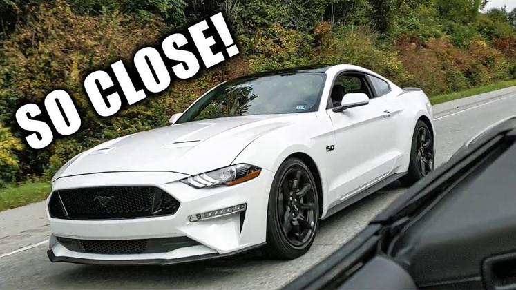 STOCK 2019 Mustang GT vs MODDED 2016 Camaro SS Convertible!