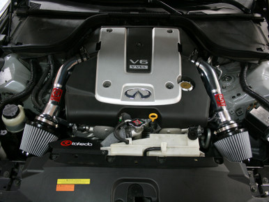 Afe Power Takeda Intakes Stage 2 Pds Ais Pds Infiniti G37 Coupe 08 12 V6 3 7l Pol Tr 3008p Complete Street Performance