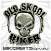 Lapel Pin - Old Skool Biker