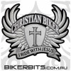Patch - Christian Biker Wings - Large