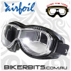 Motorcycle Goggles - Airfoils - 9305 - Clear