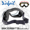 Motorcycle Goggles - Airfoils - 9311 - Day2Nite - Grey/Black
